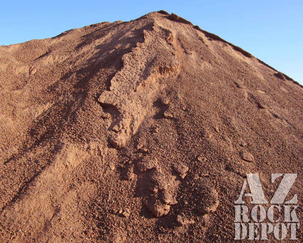 River rock and sand for Brown lava rock for landscaping