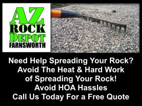 Need Help Spreading Your Rock? AZ Rock Depot Can Help!