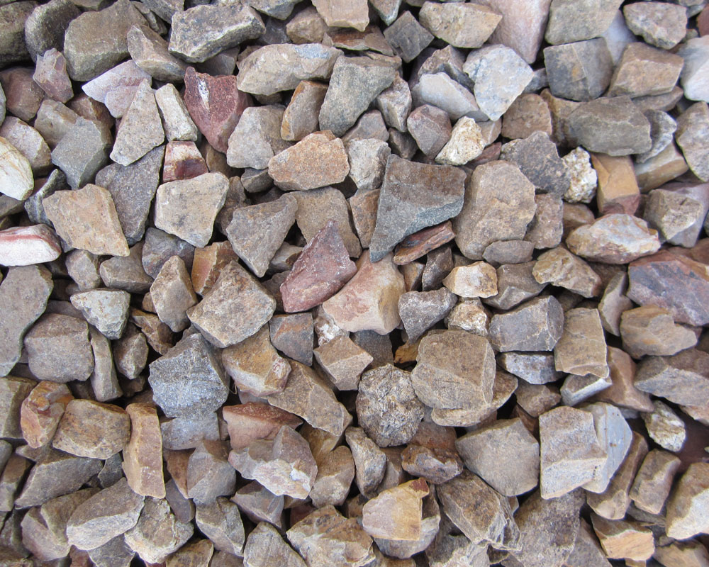 Landscape rock screened for Landscaping rocks delivered